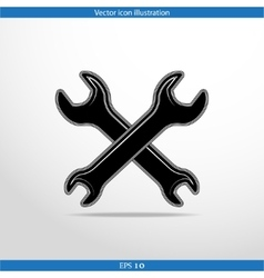 Repair web icon vector