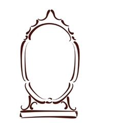 Sketched mirror vector