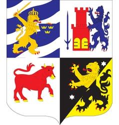 Vastgottland vector image