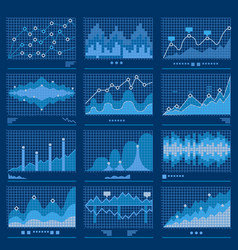 Big data blueprint data analytics vector