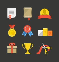 prizes vector image