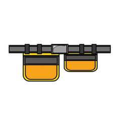 Tool belt icon vector