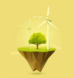 Wind power vector