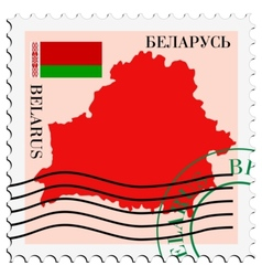 Mail to-from belarus vector