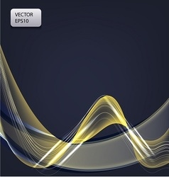 fantastic art background with light lines vector image