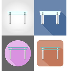 Furniture flat icons 33 vector