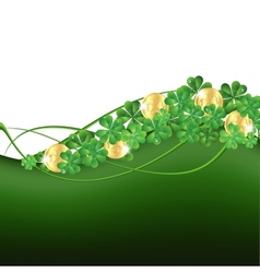 Patricks Day framePatricks Day card vector image vector image