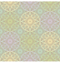 Gentle light seamless geometrical pattern lace vector