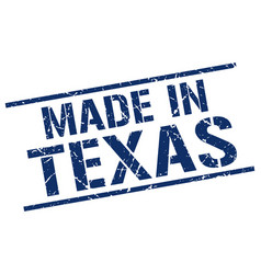 Made in texas stamp vector