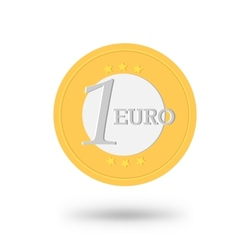 Money coin for your design vector image