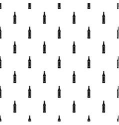Vinegar bottle pattern vector