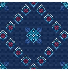 Ugly sweater pattern vector