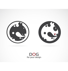 image of an dog design vector image vector image