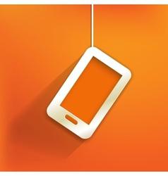 Phone web iconflat design vector