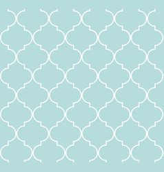 quatrefoil geometric seamless pattern vector image vector image