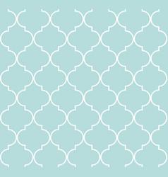 Quatrefoil geometric seamless pattern vector