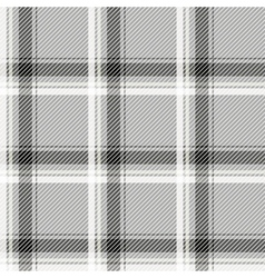 Seamless light tartan pattern fabric black and vector
