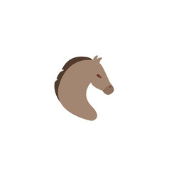 flat icon mustang element of vector image vector image