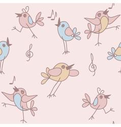 funny birds vector image