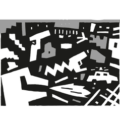 Criminal - abstract background vector