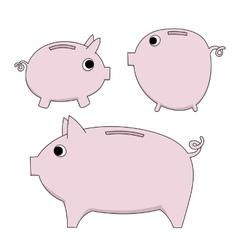 Piggy moneybox vector