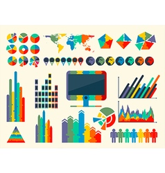 Infographic elements collec vector