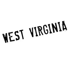 West virginia stamp vector