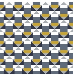 Geometric color blocked pattern vector