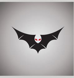 Bat logo ideas design vector