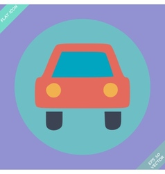 Car sign - vector image