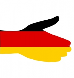 German handshake vector