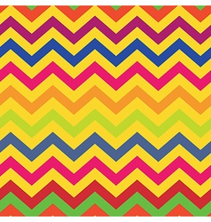 Seamless pattern colorful chevron vector