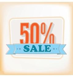 Discount labels 50 vector image