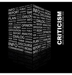 Criticism vector