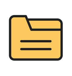 Folder i vector