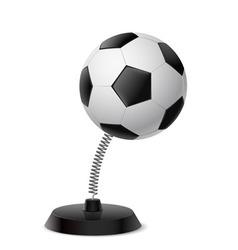 Football souvenir vector