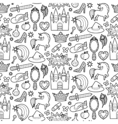 Magic patch seamless pattern vector