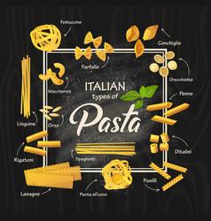 Spaghetti or italian macaroni pasta meal vector