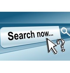 web page search vector image