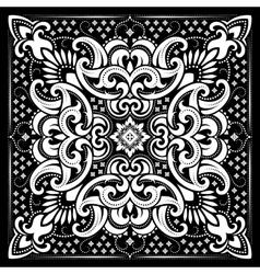 Paisley Bandana print vector image