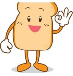 Bread 01 vector image vector image
