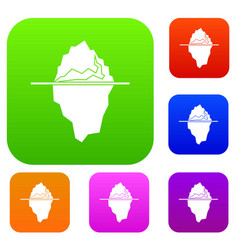 Iceberg set collection vector