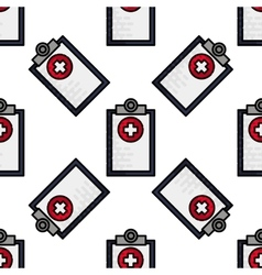 Medical flat icon pattern vector