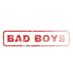 Bad boys rubber stamp vector