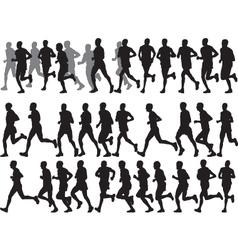 marathon 2 vector image vector image