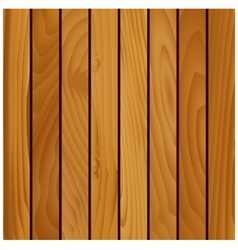 Wooden texture background with brown boards vector image vector image