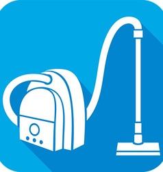 Vaccum Cleaner Icon vector image