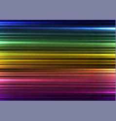 rainbow abstract bar line background vector image