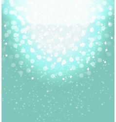 Snow on sky background abstract christmas and new vector