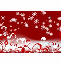 abstract winter vector image